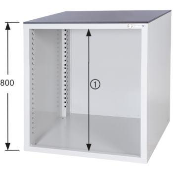 Schrankgehäuse System 700 S, HxBxT 800x722x700