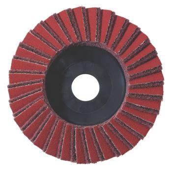 "5 x Kombi-Lamellenschleifteller 125 mm, grob, ""KLS"