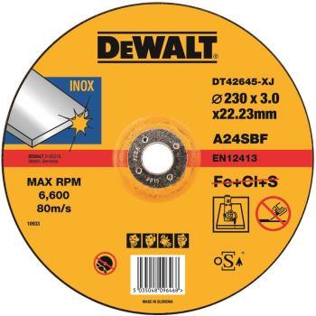 Standard Edelstahl-Trennscheibe - gekrö DT42645