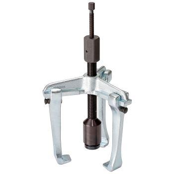 Universal-Abzieher 3-armig, hydraulisch, Ganzstahl haken, Hakenbremse 250x120 mm