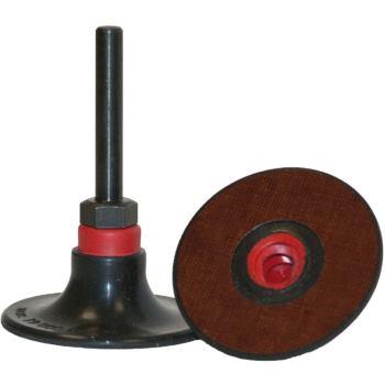 Stützteller QRC 555, Abm.: 50x6 mm , Härte/Farbe: firm, Rot