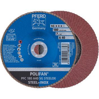 POLIFAN®-Fächerscheibe PFC 180 A 40 SG/22,23