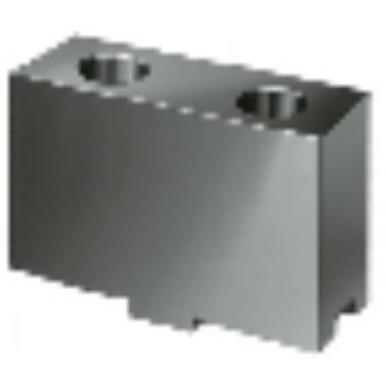 Aufsatzbacke AB in Sonderhöhe, Größe 350+400, 4-Backensatz, ungehärtet, 16MnCr5