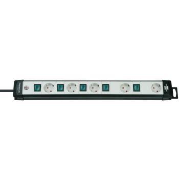 Premium-Line Technik Steckdosenleiste 5-fach schwa