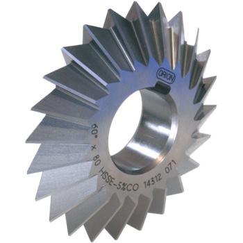 Prismenfräser HSSE5 DIN 847 90 Gr. 80x22x27 mm