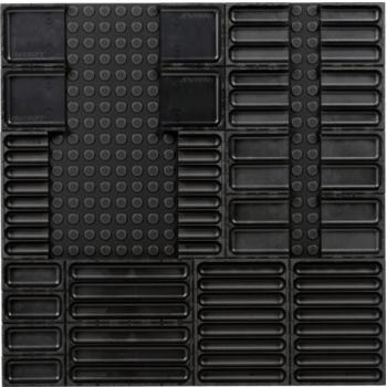 Ordnungssystem 23-teilig Abm. Matte BxT 576x576mm
