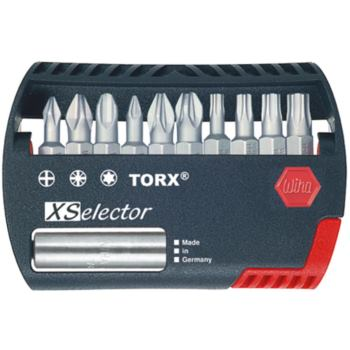 Bit-Box XSelektor 1/4 Inch C 6,3 11-teilig Z PH/P