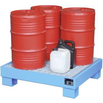 Auffangwanne feuerverzinkt für 4 Fässer mit 60 l L