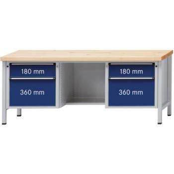Werkbank Modell 419 V Platte Buche-Massiv 200