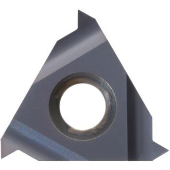 Teilprofil-Wendeschneidplatte Innengew.rechts 16IR G60 HC6625 Stg.1,75-3,0