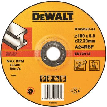 Metall-Schruppscheibe - gekröpft DT42520