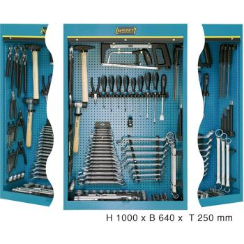 Werkzeugschrank mit Sortiment 111/116
