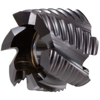 Walzenstirnfräser HSSE-TiAlN Durchmesser 63x40x27