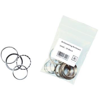 Schlüsselringe aus Metall 25 - 30 und 35 mm Durchm