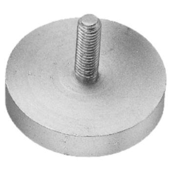 Magnet-Flachgreifer 22 mm Durchmesser mit Gewinde