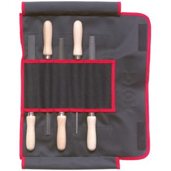 Feilen/Raspeln 5-teilig 200 mm Hieb 2 mit Buchenh