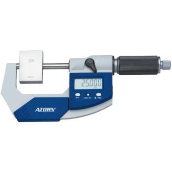 Bügelmessschraube 50 - 75 mm 0,001 mm ZW mit Daten ausgang im Etui