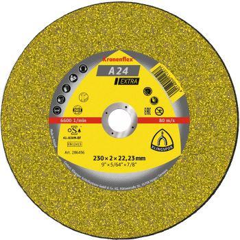 Trennscheibe, EXTRA, A 24, gekröpft, Abm.: 115x2,5x22,23 mm