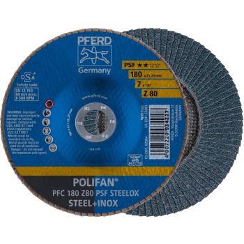 POLIFAN®-Fächerscheibe PFC 180 Z 80 PSF/22,23