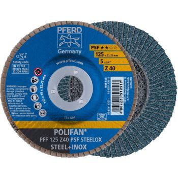 POLIFAN®-Fächerscheibe PFF 125 Z 40 PSF/22,23