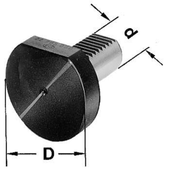 Schutzstopfen DIN 69880 Schaft 40 mm aus Kunststo