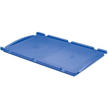 Auflagedeckel 400 x 300 mm blau für Euronorm-Stape