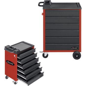 Werkzeugwagen-Vigor500-6-rot