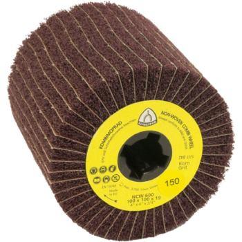 Schleifmop-Walze, NCW 600, Abm.: 110x100x 19 Korn: 100, medium