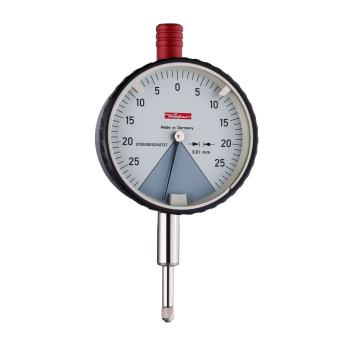 Messuhr 0,01mm / 0,4mm / 58mm / Stoßschutz / ISO 463 - DIN 878 10249