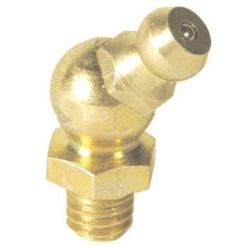Hydraulik-Kegel-Schmiernippel H2 M6 DIN 71412B
