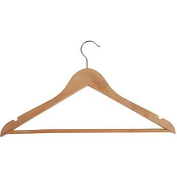 Maul Kleiderbügel Holz Basic 25 Stück Maße 450x220