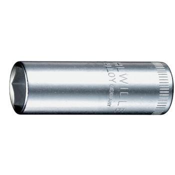 """Steckschlüsseleinsatz 13 mm 1/4"""" Zoll DIN 3124 lang"""