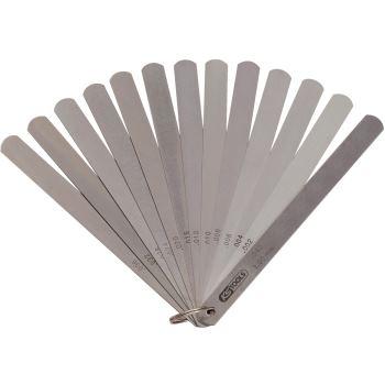 Kolbenspiellehre, 8 Blatt, 05-0,5mm 300.0614