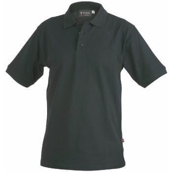 Polo-Shirt schwarz Gr. 6XL