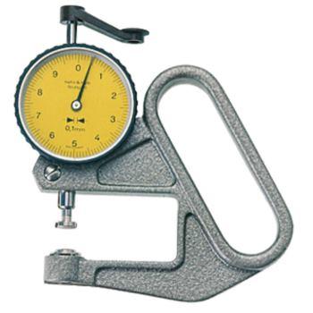 Dickenmessgerät T-Form B Anzeigebereich 10 mm Büge