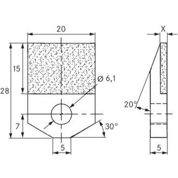 Vielkorn-Abrichter AP502G4 Typ 'DIAPLAT' D1181, 20