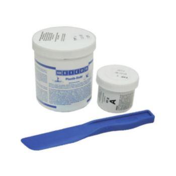 Plastik-Stahl F, 0,5 kg, pastös, aluminiumgefüllt