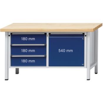 Werkbank Modell 106 V Platte Buche-Massiv 150