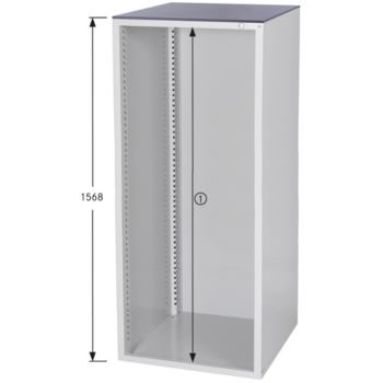 HK Schrankgehäuse System 800 S, HxBxT 1568x722x800