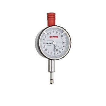 Feinmessuhr 0,001mm / 5mm / 40mm / Stoßschutz / ISO 463 - Werksnorm 10284