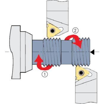 Unterlegplatten AI 16 (außen=links/innen=rechts) +