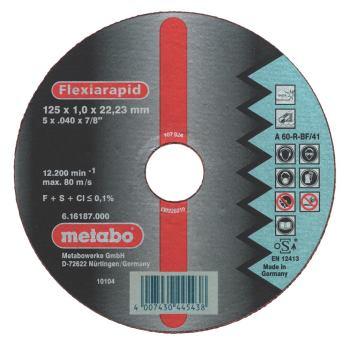 Flexiarapid 125x1,6x22,23 Inox, Trennscheibe, gera