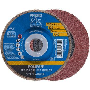 POLIFAN®-Fächerscheibe PFF 125 A 40 PSF/22,23