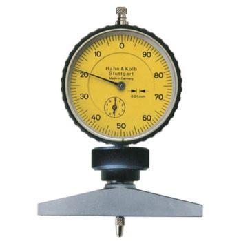 Tiefenmessgerät mit Uhr 0,01 mm Skalenteilungswert