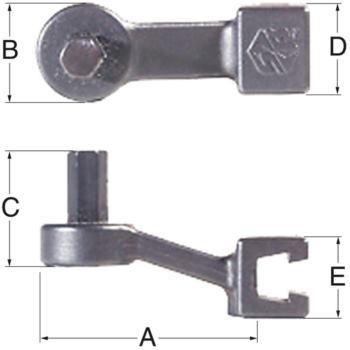 Sechskantschraubendreher 5 mm HD-5