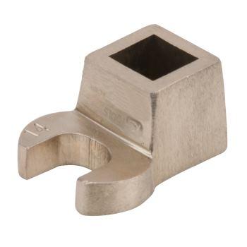 "BRONZE Krähenfußschlüssel, Maulform, Vierkant 1/2"""