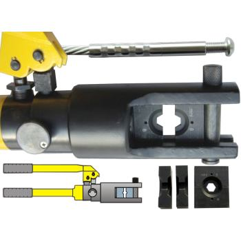 Backen-Set für hydraulische Presszange für Drahtseil 6 mm
