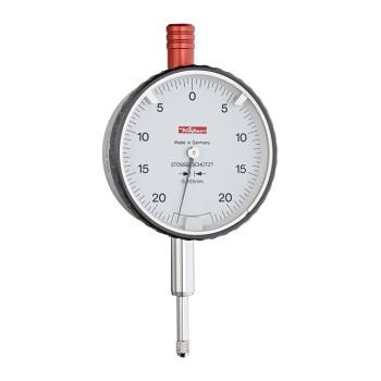 Messuhr 0,005mm / 0,4mm / 58mm / Stoßschutz / ISO463 - DIN 878 10180