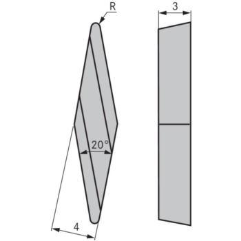 Kopierdrehplatte XBGR 100302 SPL OHC7620