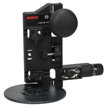 Fräszirkel und Führungsschienenadapter für Bosch-O